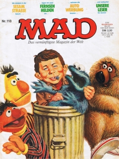 Go to MAD Magazine #118 • Germany • 1st Edition - Williams