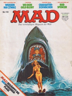 Go to MAD Magazine #119 • Germany • 1st Edition - Williams