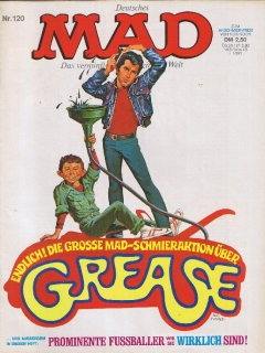 Go to MAD Magazine #120 • Germany • 1st Edition - Williams