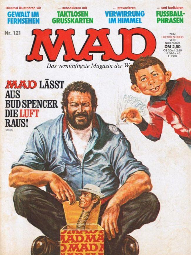 MAD Magazine #121 • Germany • 1st Edition - Williams