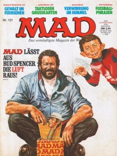 Go to MAD Magazine #121 • Germany • 1st Edition - Williams