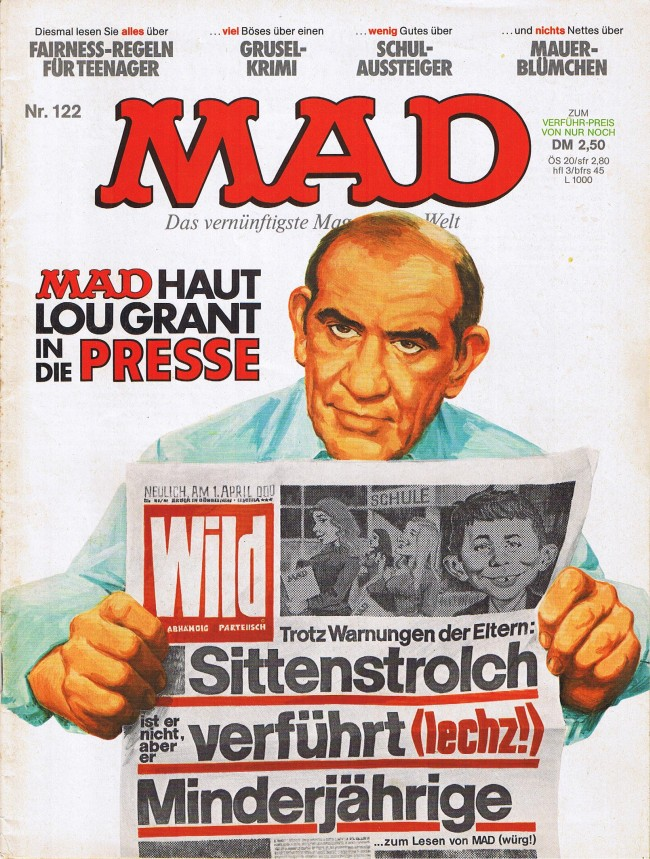 MAD Magazine #122 • Germany • 1st Edition - Williams