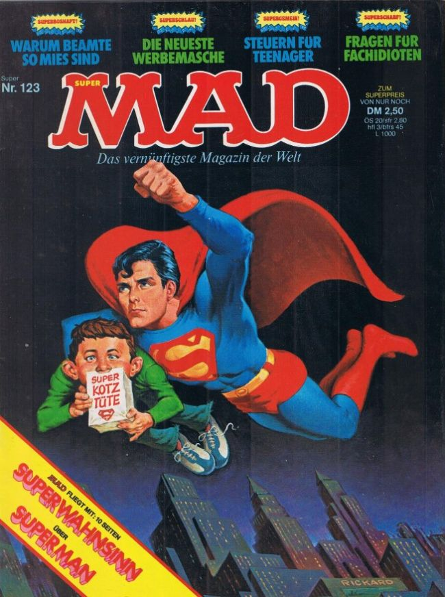MAD Magazine #123 • Germany • 1st Edition - Williams