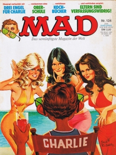 Go to MAD Magazine #124 • Germany • 1st Edition - Williams