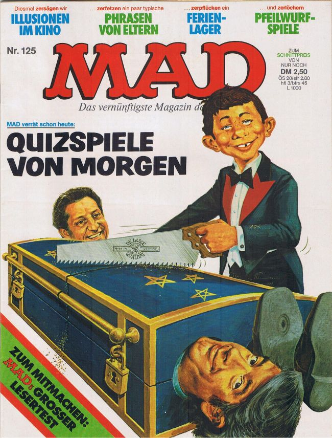MAD Magazine #125 • Germany • 1st Edition - Williams