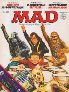 Go to MAD Magazine #126 • Germany • 1st Edition - Williams