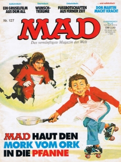 Go to MAD Magazine #127 • Germany • 1st Edition - Williams