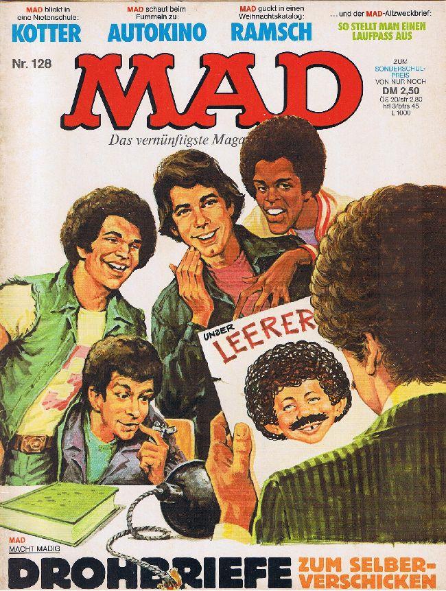 MAD Magazine #128 • Germany • 1st Edition - Williams