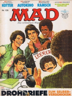 Go to MAD Magazine #128 • Germany • 1st Edition - Williams