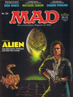 Go to MAD Magazine #129 • Germany • 1st Edition - Williams