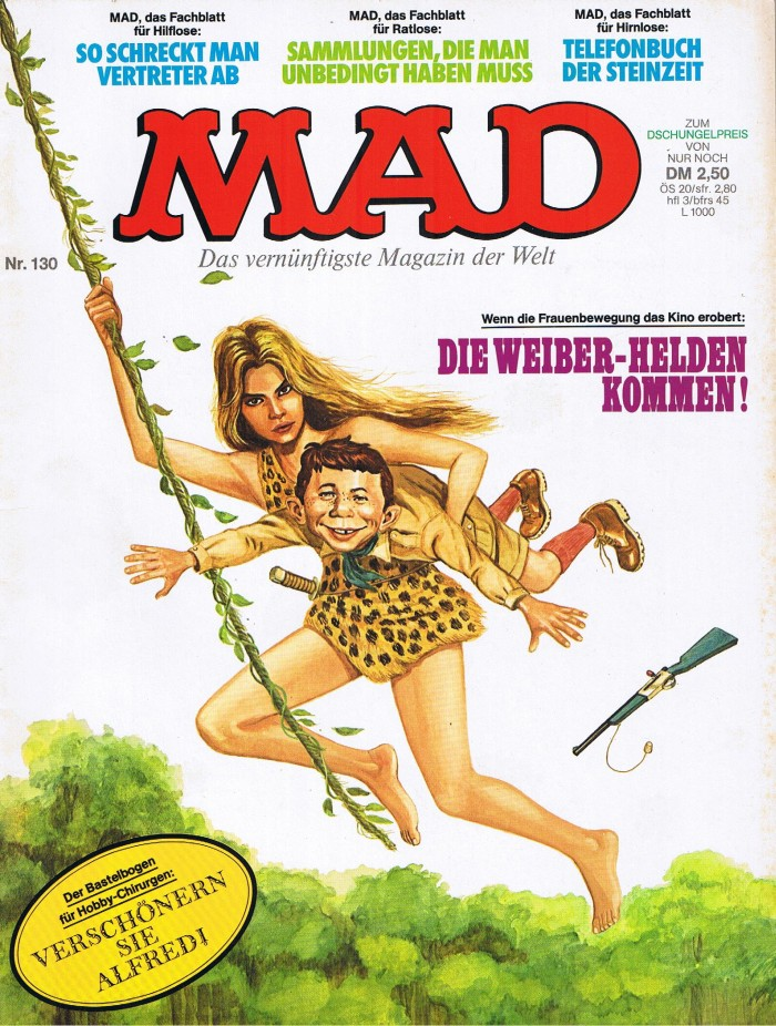 MAD Magazine #130 • Germany • 1st Edition - Williams