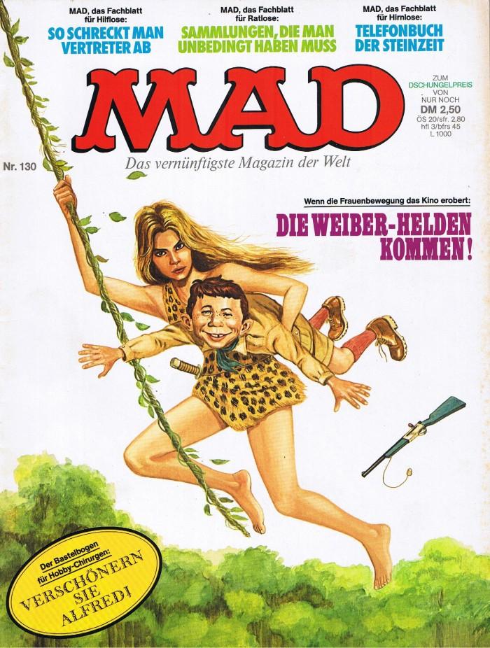 MAD Magazine #130 • Germany • 1st Edition - Williams