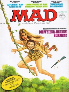 Go to MAD Magazine #130 • Germany • 1st Edition - Williams