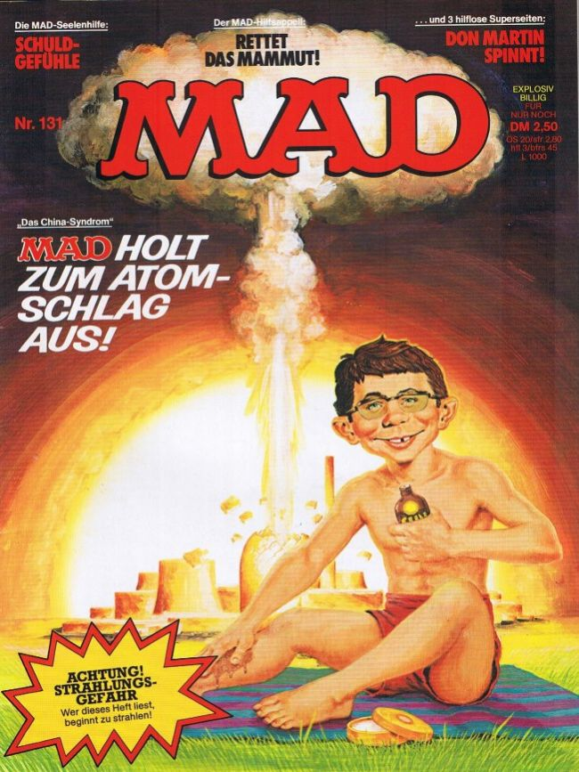 MAD Magazine #131 • Germany • 1st Edition - Williams