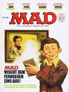 Go to MAD Magazine #132 • Germany • 1st Edition - Williams