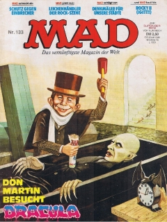 Go to MAD Magazine #133 • Germany • 1st Edition - Williams