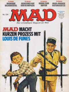 Go to MAD Magazine #134 • Germany • 1st Edition - Williams