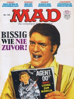 Go to MAD Magazine #135 • Germany • 1st Edition - Williams