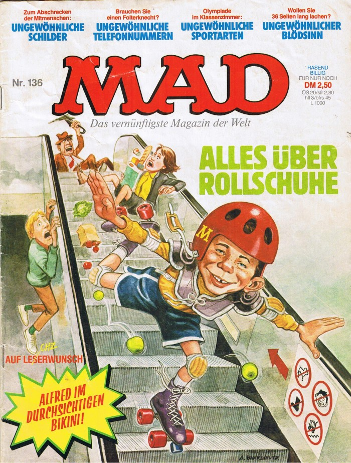 MAD Magazine #136 • Germany • 1st Edition - Williams