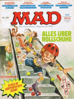 Go to MAD Magazine #136 • Germany • 1st Edition - Williams