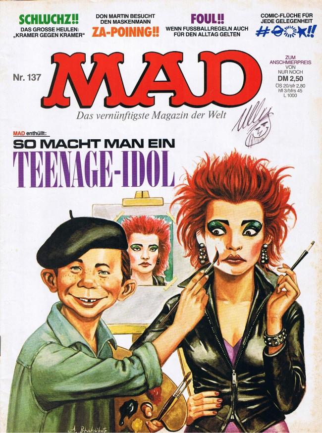 MAD Magazine #137 • Germany • 1st Edition - Williams