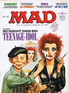 Go to MAD Magazine #137 • Germany • 1st Edition - Williams