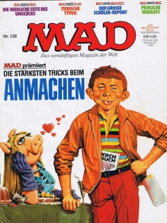 Go to MAD Magazine #138 • Germany • 1st Edition - Williams