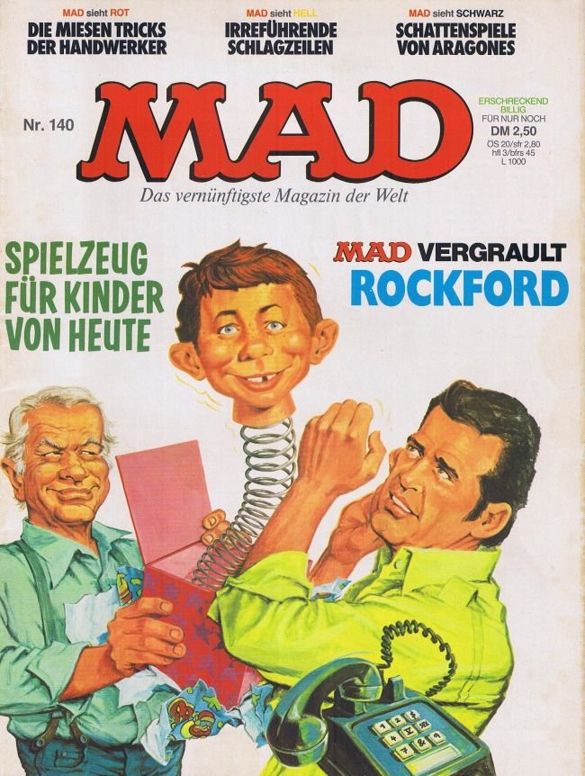 MAD Magazine #140 • Germany • 1st Edition - Williams