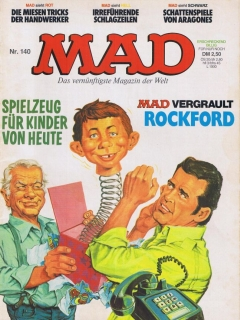 Go to MAD Magazine #140 • Germany • 1st Edition - Williams