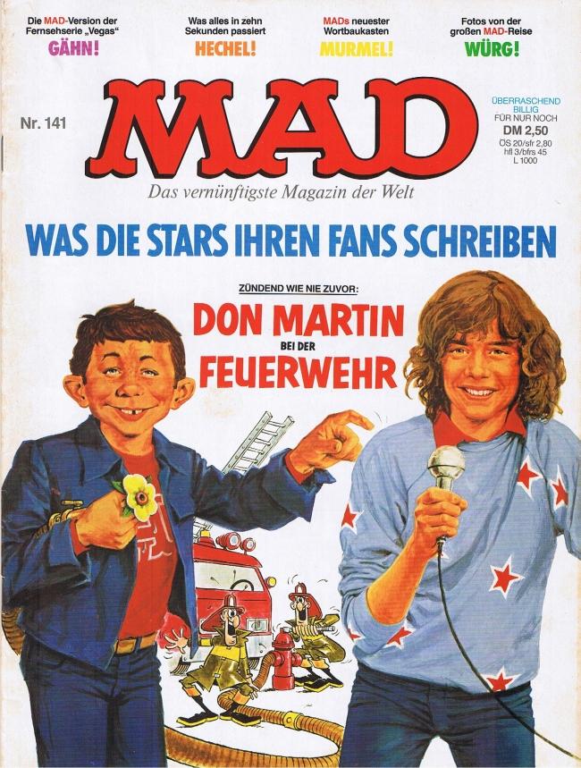 MAD Magazine #141 • Germany • 1st Edition - Williams