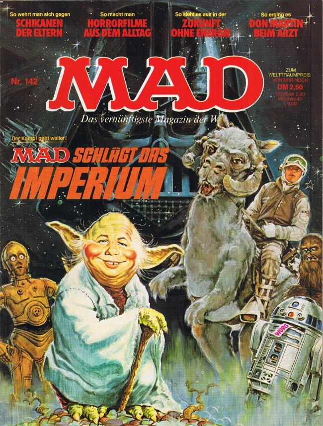 MAD Magazine #142 • Germany • 1st Edition - Williams
