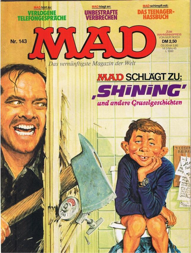 MAD Magazine #143 • Germany • 1st Edition - Williams