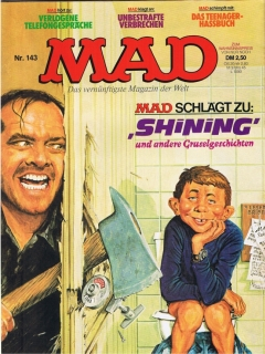 Go to MAD Magazine #143 • Germany • 1st Edition - Williams