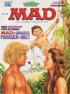 Go to MAD Magazine #144 • Germany • 1st Edition - Williams