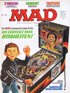 Go to MAD Magazine #145 • Germany • 1st Edition - Williams