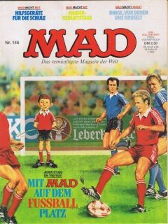 Go to MAD Magazine #146 • Germany • 1st Edition - Williams