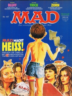 Go to MAD Magazine #147 • Germany • 1st Edition - Williams