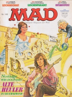 Go to MAD Magazine #148 • Germany • 1st Edition - Williams