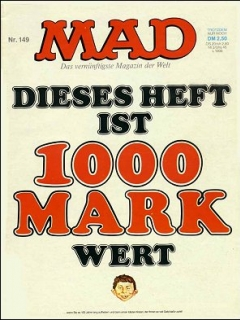 Go to MAD Magazine #149 • Germany • 1st Edition - Williams