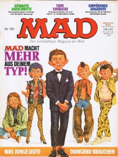 Go to MAD Magazine #150 • Germany • 1st Edition - Williams