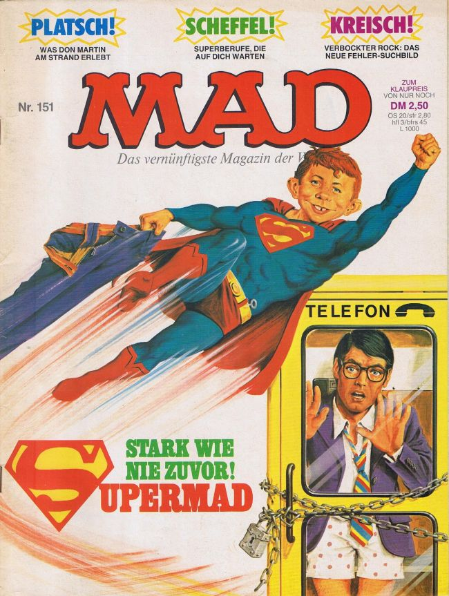MAD Magazine #151 • Germany • 1st Edition - Williams