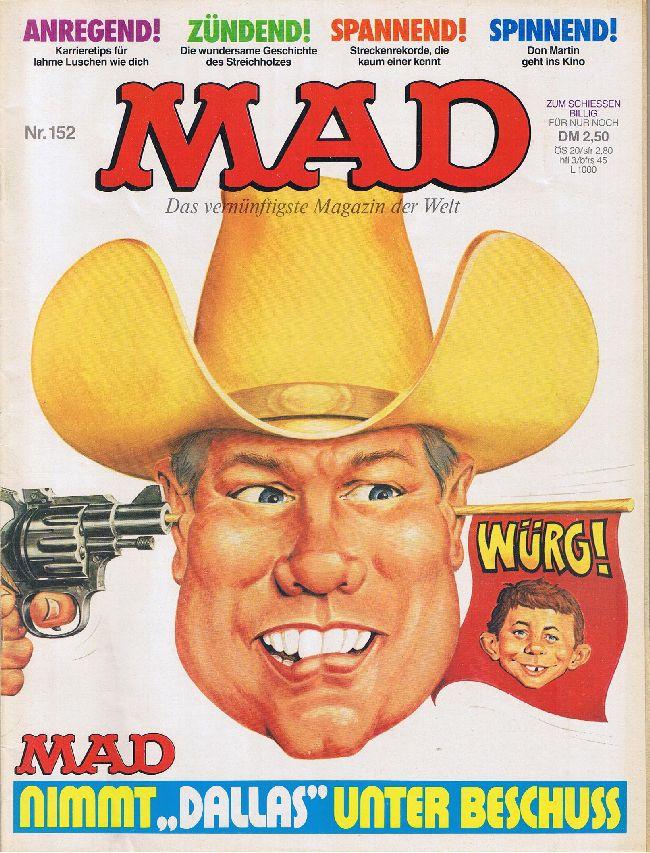 MAD Magazine #152 • Germany • 1st Edition - Williams