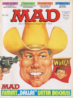 Go to MAD Magazine #152 • Germany • 1st Edition - Williams