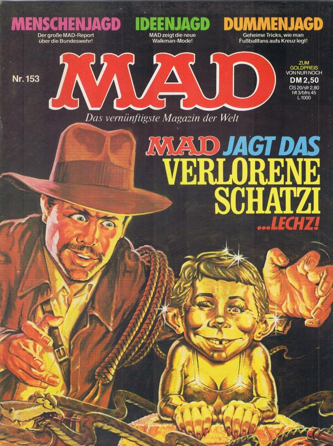 MAD Magazine #153 • Germany • 1st Edition - Williams