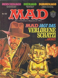 Go to MAD Magazine #153 • Germany • 1st Edition - Williams