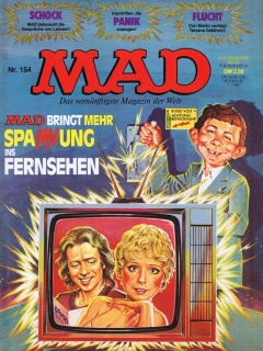Go to MAD Magazine #154 • Germany • 1st Edition - Williams