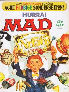 Go to MAD Magazine #156 • Germany • 1st Edition - Williams