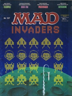 Go to MAD Magazine #157 • Germany • 1st Edition - Williams