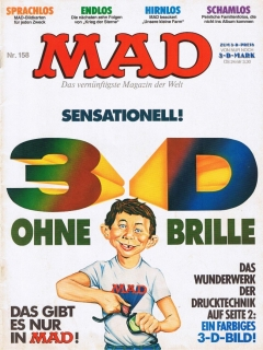 Go to MAD Magazine #158 • Germany • 1st Edition - Williams