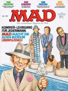 Go to MAD Magazine #159 • Germany • 1st Edition - Williams